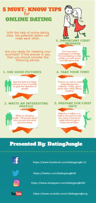 Five Must Know Tips for Online Dating