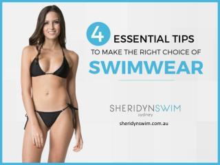 How to Buy the Best Swimwear