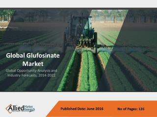 Glufosinate Market - Global Opportunity Analysis and Industry Forecast