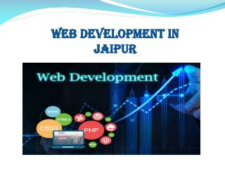 Best Web Develoment in Jaipur