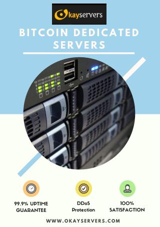 Bitcoin dedicated servers