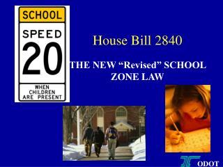 House Bill 2840
