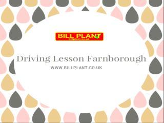 Driving Lesson Farnborough
