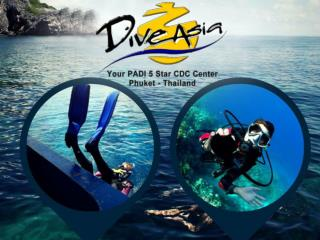 Scuba Diving Phuket PADI 5 Star Dive Learning Centre