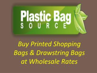 Shop Printed Shopping & Drawstring Bags at wholesale Prices