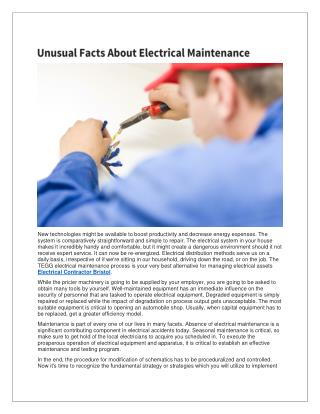 Electrician Bristol