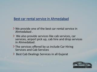 Ahmedabad Cabs