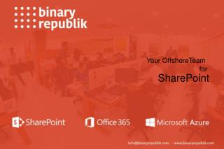 Binary Republik - SharePoint Consulting Company