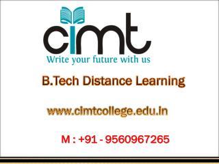 Best Distance Engineering Courses in Noida | Cimt College