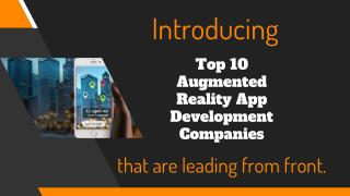 Best Augmented Reality Technology Companies