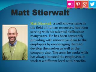 Matt Stierwalt