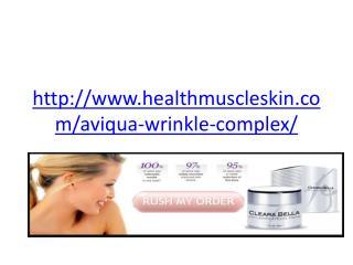 http://www.healthmuscleskin.com/aviqua-wrinkle-complex/