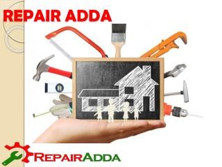 Online Repair and Services in Gurgaon- Repair Adda