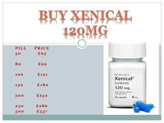 Buy Xenical 120mg