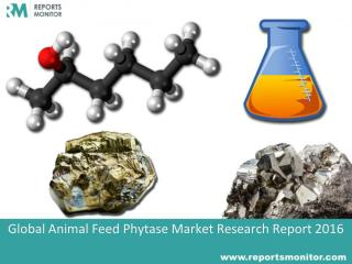 Animal Feed Phytase Industry Research Report 2016