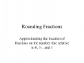 Rounding Fractions