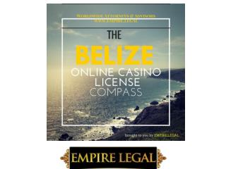 How to Apply for a Belize Online Casino License