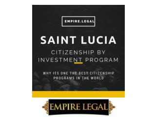 Saint Lucia Citizenship by Investment Program
