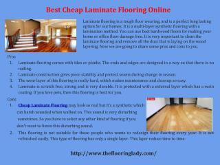 Best Cheap Laminate Flooring Online