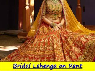 Designer Bridal Lehenga on Rent in Rohini delhi