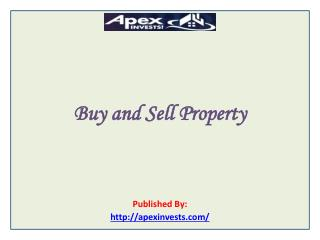 Buy and Sell Property