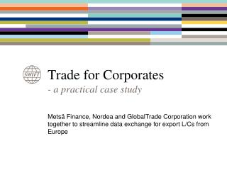 Trade for Corporates