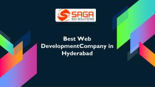 Web Development Companies in Hyderabad, Web Development Services Hyderabad