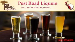Wine, Beer and Spirit at nearest liquor store | Call us (410) 939-0990