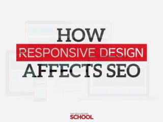 How responsive design affects seo insider