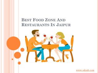 Best  Food zone &  Restaurant in Jaipur