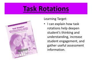 Task Rotations