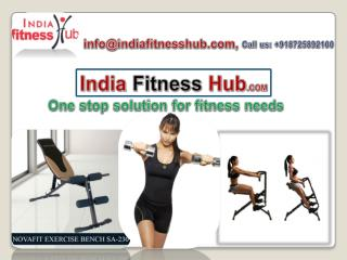 India Fitness Hub- One stop solution for fitness needs