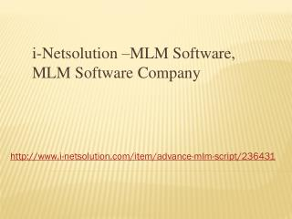 MLM Software, MLM Software Company