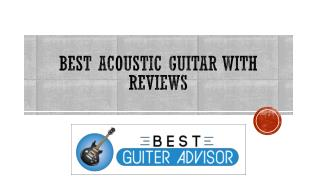 Best Acoustic Guitar with Reviews