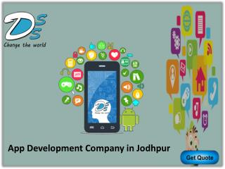 Mobile App Development Company in Jodhpur