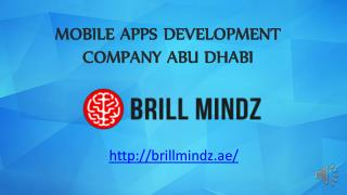 Mobile application development company Abu Dhabi
