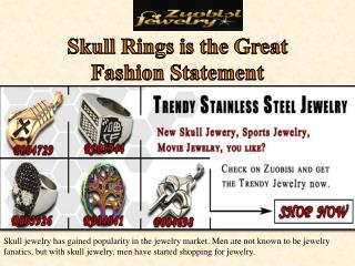 Skull Rings is the Great Fashion Statement