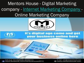Seo Marketing Company - Mentors House