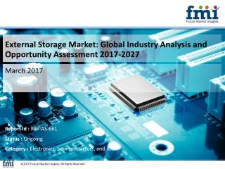 External Storage Market Revenue, Opportunity, Segment 2027