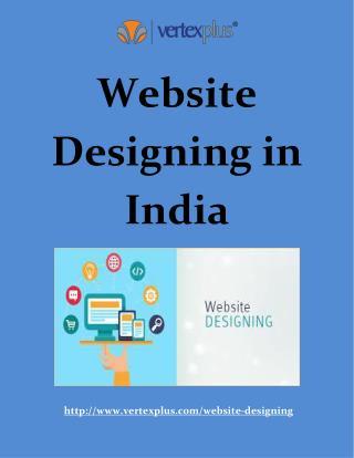 Website designing in India - VertexPlus