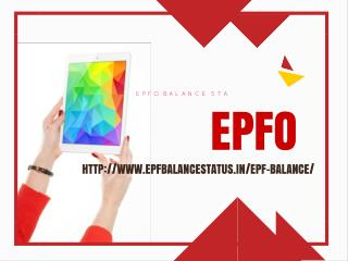 EPF balance online   UAN passbook PF statement Status
