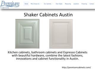 Shaker Cabinets Austin