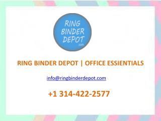 2.5 Inch Ring Binders | School Ring Binders & Loose Leaf Ring - Ring Binder Depot