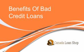Benefits of Getting Bad Credit Loans In Surrey