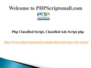 Php classified script, classified ads script php