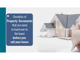 Checklists of Property Documents that you need to hand over to the buyer before you sell your house