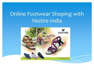 Online Footwear Shoping with Vestire India