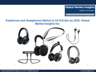 Wired Earphone and Headphone Market to grow at 4.6% CAGR from 2016 to 2023