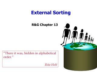 External Sorting