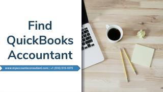 Find Quickbooks Accountant